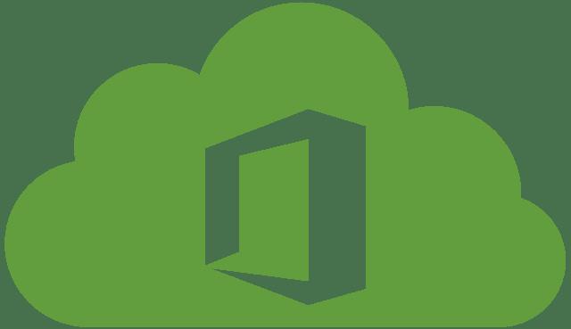 office 365 cloud green